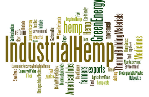 Industrial Hemp Uses - diagram