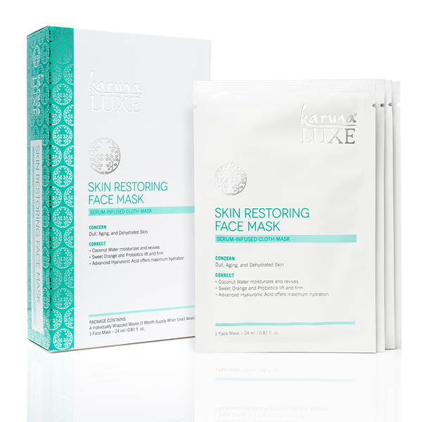 LUXE SKIN RESTORING TREATMENT MASK
