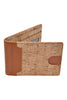 Premium Stylish RFID Blocking Card Holder Wallet. Handsome Leather or Natural Cork & Leather. Slim, Compact.