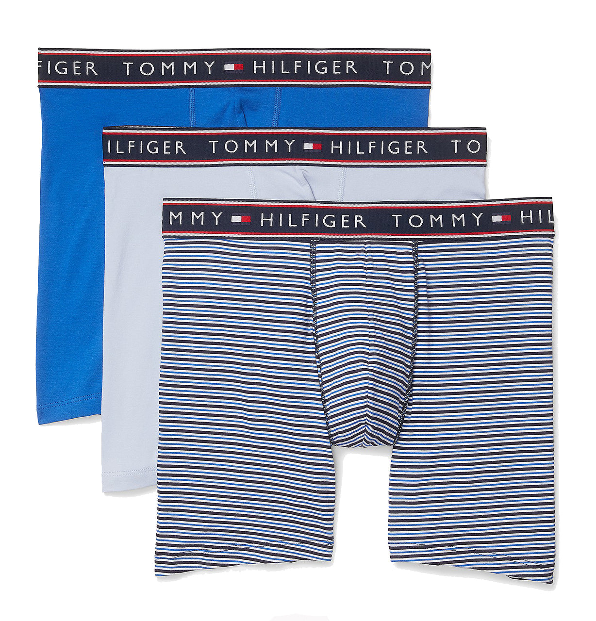 Tommy Hilfiger Men's 3 Pack Cotton Stretch Boxer Brief