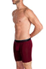 Obviously PrimeMan Boxer Brief 9 inch Leg Maroon