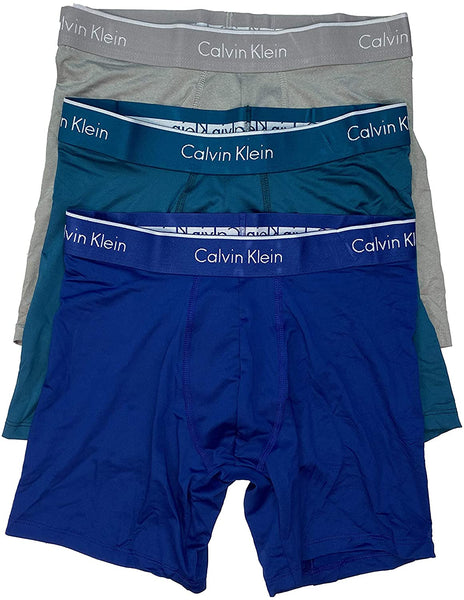 Calvin Klein Men's Underwear Microfiber Stretch 3-Pack Boxer Brief