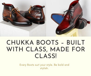 Chukka Boots – Built With Class, Made For Class!
