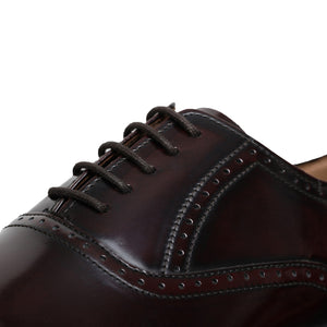 Medallion Toe Goodyear Welted- Burgundy