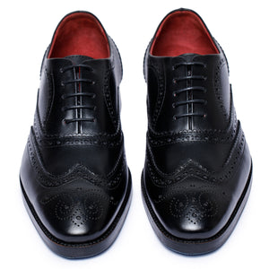 Wingtip Brogue Oxford - Black