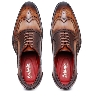 Wingtip Brogue Oxford- Brown