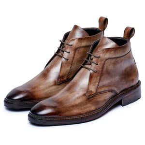Classic Chukka Boots- Wooden