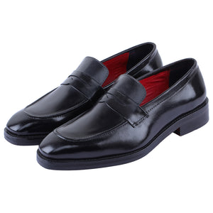 Penny Loafers - Dark Black