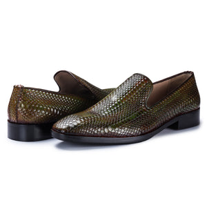 Venetian Loafer - Green