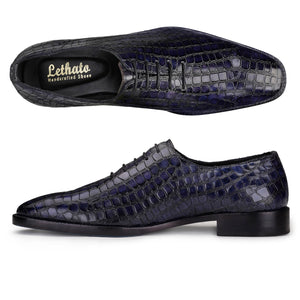 Wholecut Oxford - Crocodile Navy