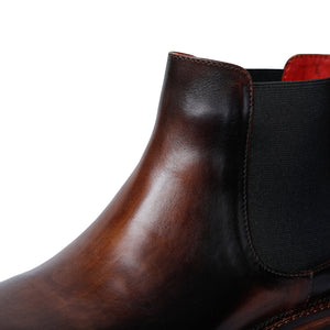 Mens Chelsea Boots- Brown