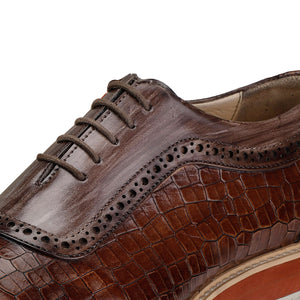 Oxford Sneakers- Crocs Brown