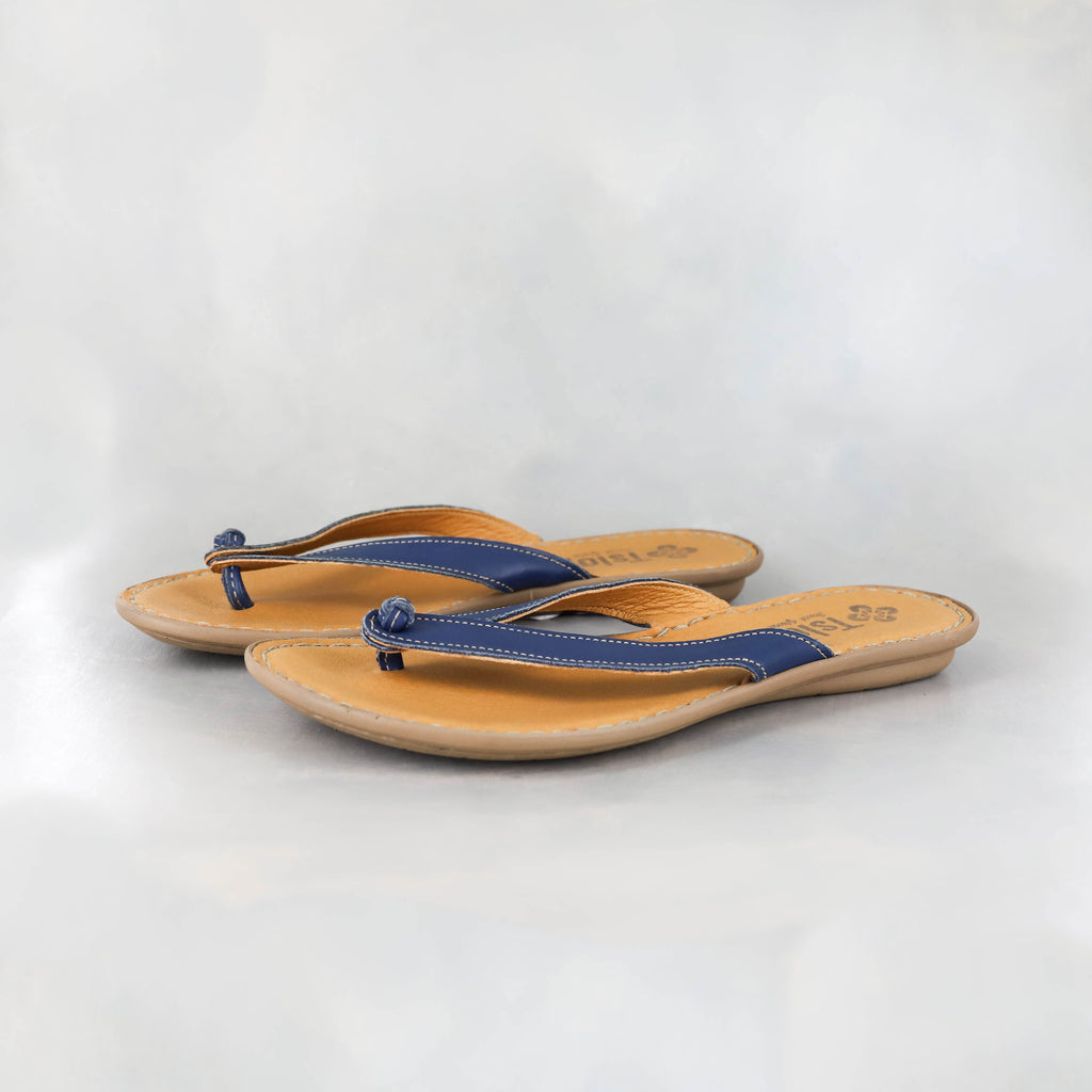 Esitolo : Ladies Leather Tslops Sandal in Verlino Relaxa
