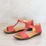 Venge : Ladies Leather Sandal in Valentino Cayak