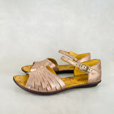 Gangatheka : Ladies Leather Sandal in Pony Domus