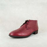 Sizayo : Ladies Leather Boot in Oxblood Relaxa