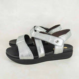 Itshali : Ladies Leather Sandals in Tallio Grid Sale