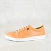 Unyazi : Ladies Leather Sneaker in Tan Vintage