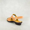 Gadla : Ladies Leather Sandal in Tan Vintage Sale