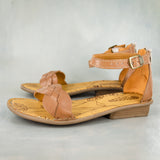 Umdenda : Ladies Leather Sandal in Hazel Relaxa