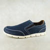 Lobuntu : Mens Leather Shoe in Marine Buff Burn Sale
