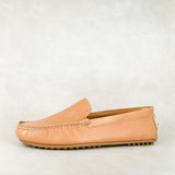 Kwanele : Mens Leather Shoe in Hazel Relaxa