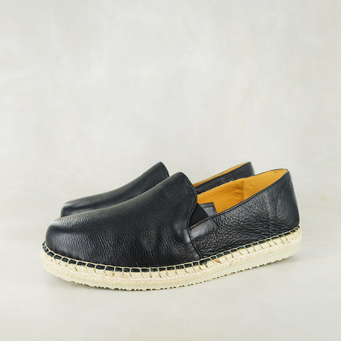 Umgibe : Men's Leather Shoe in Navy Nubuck