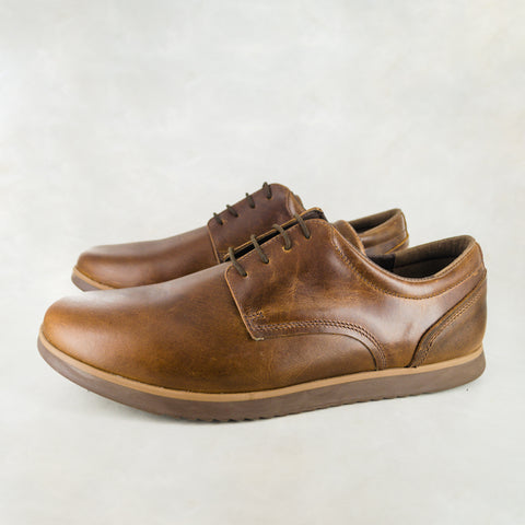 Kambe : Mens Leather Sneaker in Tan Vintage Sale