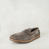 Lacuka : Mens Leather Shoes in Choc Nubuck Sale