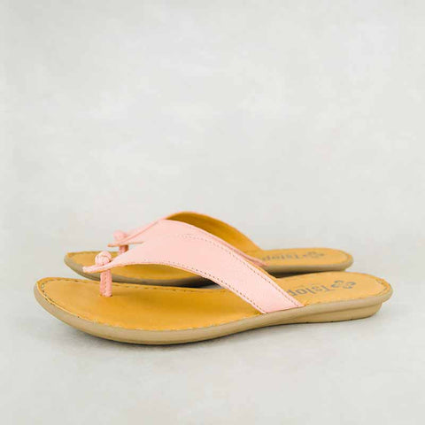 Gadla : Ladies Leather Sandal in Gravel Vintage Sale