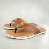 Namandla : Mens Leather Tslops Sandal in Rosie Colt
