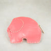 Elephant Coin Purse in Assorted Leathers