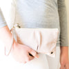 Nonkie : Ladies Leather Clutch Purse in Medusa Cayak