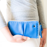 Olwethu : Ladies Leather Clutch Purse in Spirit Relaxa