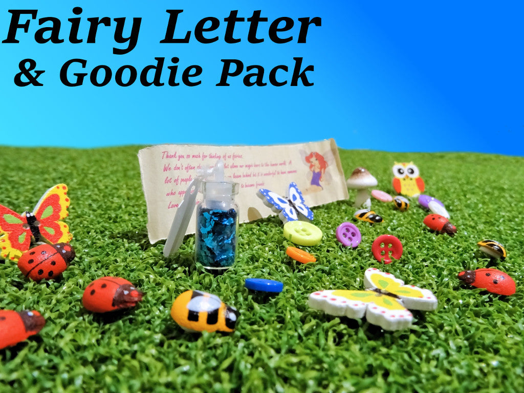 fairy goodies and fairy letter