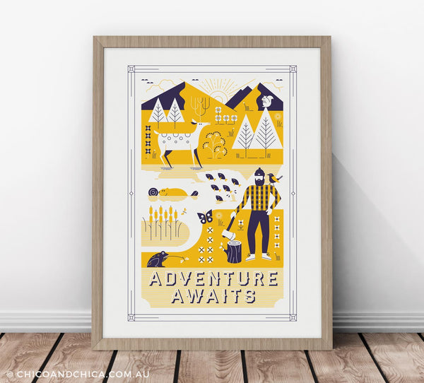 Quality Kids Prints, Kids Posters, Nursery Art & More! Chico and ...