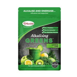 Morlife Alkalising Greens (Lemon Lime)