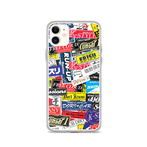 Stickerbomb iPhone Case