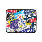 Stickerbomb Laptop Sleeve - 13 in
