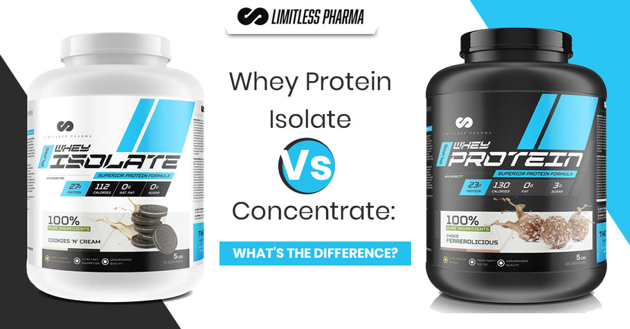 Whey Protein Isolate Vs Whey Concentrate: What's The Difference?