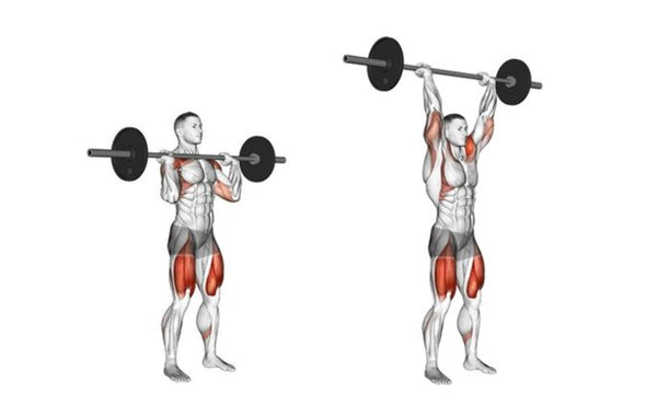 Overhead Press Exercise