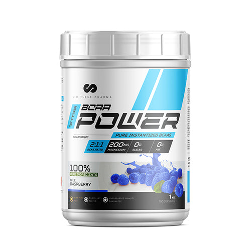 INTRA BCAA POWER 1KG - Blue Raspberry