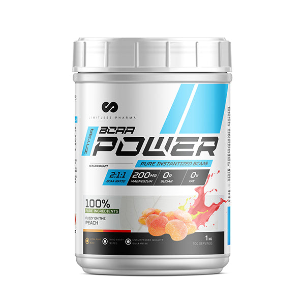 INTRA BCAA POWER 1KG - Peach Candy