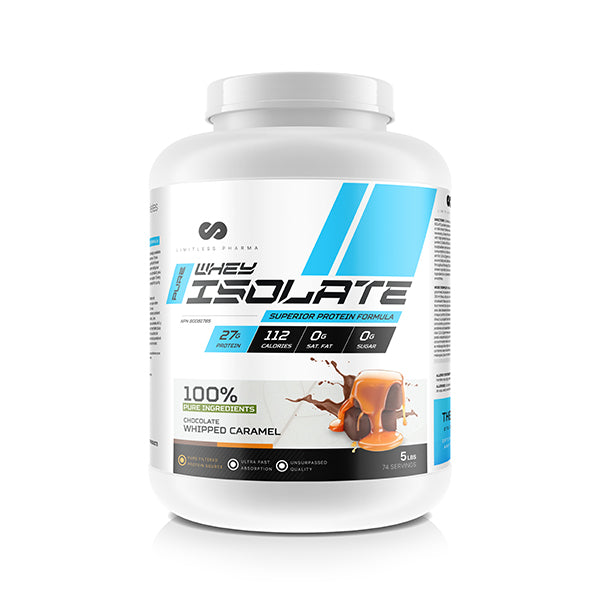 PURE WHEY ISOLATE 5LBS - Chocolate Whipped Caramel
