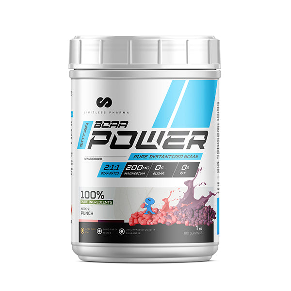 INTRA BCAA POWER 1KG - Nerdz Punch