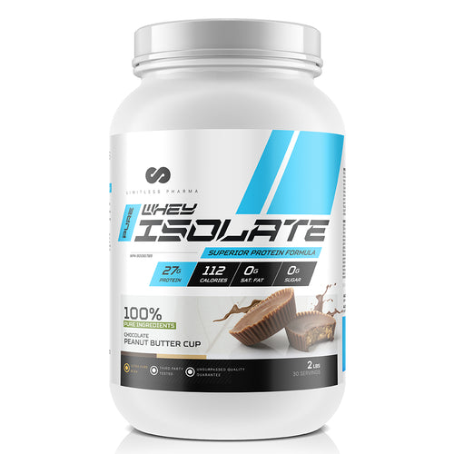 PURE WHEY ISOLATE 2LBS
