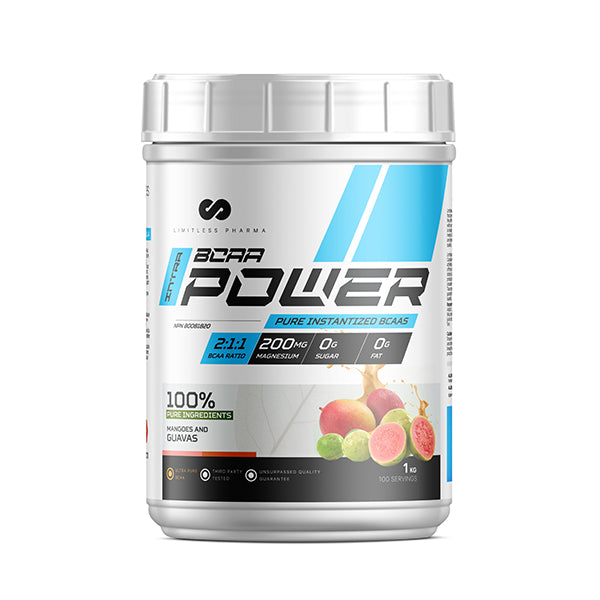 INTRA BCAA POWER 1KG - Mangoes And Guavas