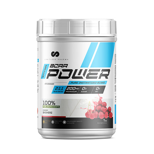 INTRA BCAA POWER 1KG - Cherry Basherz