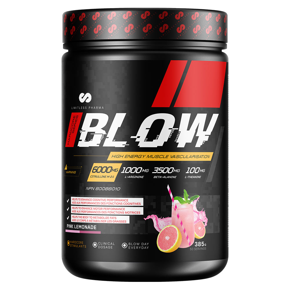 BLOW Pre-Workout - Pink Lemonade