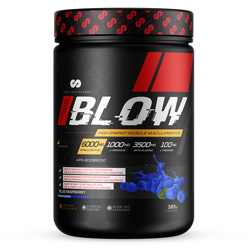 BLOW Pre-Workout - Blue Raspberry